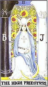 「塔羅牌 女祭司」的圖片搜尋結果